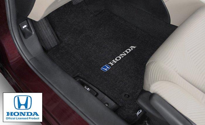 Honda logo floor mats