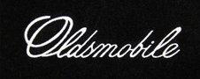 Oldsmobile embroidered logo floor mats