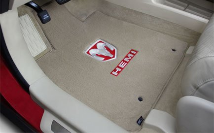 Lloyd Mats Velourtex carpet, custom fit jeep mats, custom fit dodge replacement floor mats, ram replacement floor mats, custom fit chrysler replacement floor mats, mats for all dodge chrysler jeep 1950 through 2012